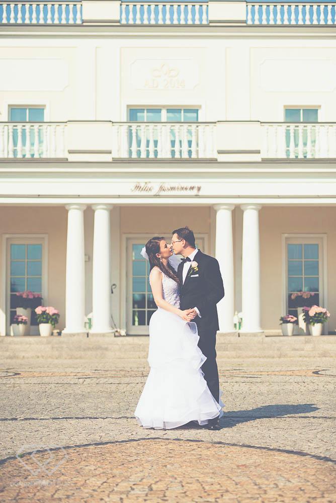 sesja ślubna plener pałac jaśminowy